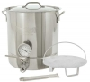 Bayou Classic 16-Gallon Stainless Steel 6 piece Brew Kettle Set
