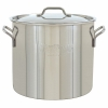 Bayou Classic 20 Quart Stainless Steel Economy Brew Pot