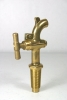 Brass Oak Barrel Spigot - #4
