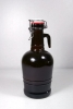 Bottles, Beer, 2 liter Growler (glass handle)