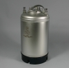 3 Gallon New Stainless Steel Ball Lock Keg