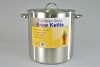 Pot, Stainless Steel Brew Kettle, 30 quart