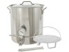 Pot, Bayou Classic 16-gallon 6-piece Brew Kettle